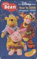 Japan NTT Free Card Disney Winnie The Pooh 110-207426 Zodiac - Disney