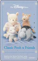 Japan NTT Free Card Disney Winnie The Pooh 110-199040 - Disney