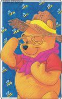 Japan NTT Free Card Disney Winnie The Pooh 110-191223 - Disney