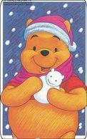 Japan NTT Free Card Disney Winnie The Pooh 110-191225 - Disney