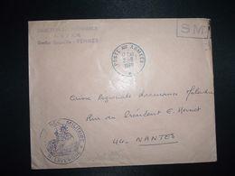 LETTRE OBL.2-9 1969 POSTE AUX ARMEES DIRECTION DE L'INTENDANCE De La 3e R.M. RENNES (35)+INTENDANCE N. LAVERGNE - Postmark Collection (Covers)