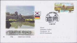 Korea FDC 2013 Bayreuth Sonnetempel  (NB**LAR9-137) - Korea, South