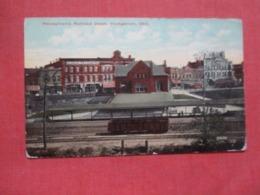 Penn Railroad Depot  Youngstown Ohio  Ref 4198- - Etats-Unis