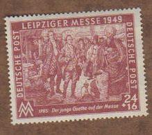 ALLEMAGNE  (Y&T) 1949 -.n°58    *Zones Sovietique. Foire D'Automne De Leipzig*   24p+16p *  Neuf/new - Zona Sovietica
