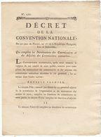 Gard : Révolution, An 3,  Représentant Du Peuple Blanqui/ Routes, Ponts Et Canaux (6 Pages) - Documenti Storici