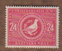 ALLEMAGNE  (Y&T) 1949 -.n°51    *Zones Sovietique. 3è Congrès Populaire*   24p *  Neuf/new - Zona Sovietica