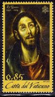 CITTÀ DEL VATICANO VATIKAN VATICAN 2014 EL GRECO € 0,85 MNH - Vatican