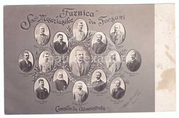 Romania Focsani Furnica Soc Meseriasilor Din Focsani Consiliu De Administratie Iorga Poienaru Gavtila Secara - Romania