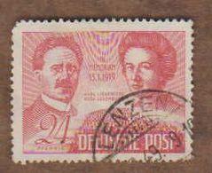 ALLEMAGNE  (Y&T) 1948 -.n°48    *Zones Sovietique. 30è Anni De La Mort De Liebknecht/Luxemburg*   24p *  Obli - Zona Sovietica