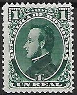 HONDURAS   -   1878.   Y&T N° 17 * . - Honduras