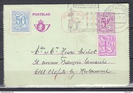 Postblad Van Middelkerke Naar Chapelle Lez Herlaimont - Belgium