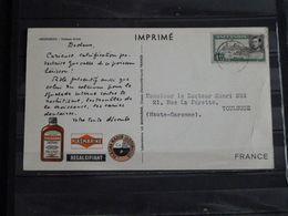 Ascension Island - Poisson Armé - 1953 - Publicité Plasmarine  Ionyl - Ascension (Ile De L')