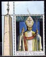 CITTÀ DEL VATICANO VATIKAN VATICAN 2014 BEATIFICAZIONE DI PAPA PAOLO VI POPE € 0,70 MNH - Vatican