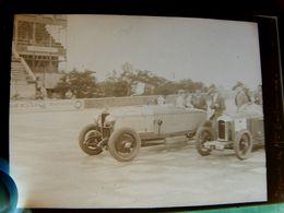 Négatif Souple Photographie Mme BACHMANN Au Départ Femme   Pilote Automobile à MONTLHERY En  1927 - Automobile