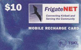 Kiribati, KI-TSK-REF-0002, Bird And Sky, 2 Scans. - Kiribati