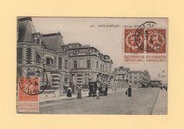Poste Belge - Le Havre Special - Sur Timbres Belges Et Carte Postale Du Havre - Guerra De 1914-18