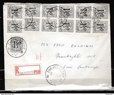 Aangetekende Brief Van Zwijndrecht Naar Antwerpen - Belgium