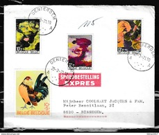 Expres Brief Van Dentergem Naar Bissegem - Belgium