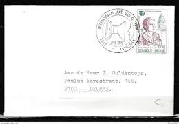 Brief Van Internationaal Jaar Van De Vrouw Antwerpen Naar Deurne - Belgium