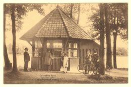 A1670[Postkaart] Genval-les-Eaux / Pavillon Lylia / De L'Argentine Hôtel [Madame Bombaert Glaces Vélo Rixensart] - Rixensart
