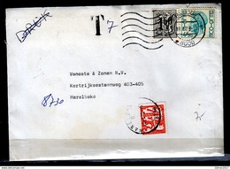 Brief Van Brugge 1 Naar Harelbeke Met Taxzegel - Belgium