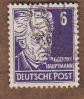 ALLEMAGNE  (Y&T) 1948 -.n°33    *Zones Sovietique.Emis En Souvenir De Célébrités Allemandes*   6p *  Obli - Zona Sovietica