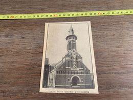 ANNEES 20/30 EGLISE SAINT JACQUES A TOURCOING - Alte Papiere