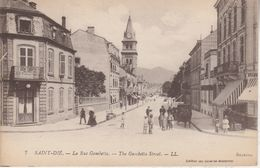 88 - SAINT DIE - La Rue Gambetta - Saint Die