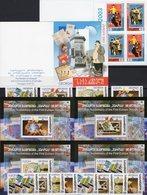 Plakate 2003 Georgien 420/1MH,507/4A/B+Bl.35/38 ** 45€ EUROPA Plakatkunst M/s Sheets Blocs Hb Booklet 50 Years CEPT - Géorgie