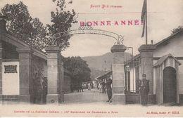 88 - SAINT DIE - Entrée De La Caserne Chérin - 10e Bataillon De Chasseurs à Pied - Saint Die