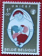 1Fr+50c UNICEF OBC N° 1154 (Mi 1213) 1960 POSTFRIS MNH ** BELGIE BELGIEN / BELGIUM - Unused Stamps