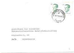 Postempel BERCHEM (ANTW) 2 . J  2600 - Postmark Collection