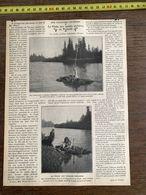 1910 JDV LA PECHE AUX MOULES PERLIERES EN FINLANDE - Alte Papiere