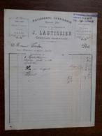 L24/172 Ancienne Facture. Charolles . Patisserie. J.Lautissier. 1904 - France