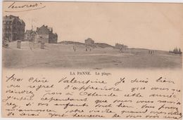 La Panne  Plage Ostende-Bains 1901 - Hotel Du Phare. Heyst-sur-Mer - De Panne