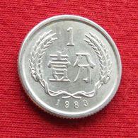 China 1 Fen 1983 Y# 1 Chine - Chine