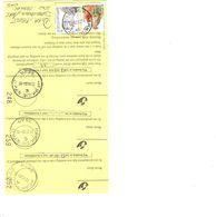 3 X Poststempels HERK-de-STAD A En C En D - Documents Of Postal Services