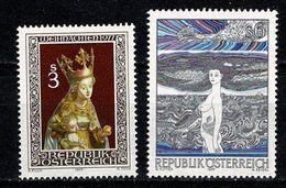 Osterreich 1977   Yv. 1393/1394**, Mi  1562**, 1564**, ANK 1575**, 1577** MNH - 1945-.... 2ª República