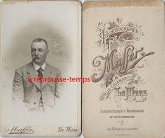 CDV à LA MURE-portrait  D'homme- Photo Maffer - Anciennes (Av. 1900)
