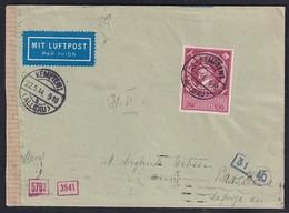DR., Luftpost-Auslandbrief Mit EF. Mi.-Nr. 887 - Unclassified