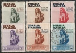 Somalia Sc 164-169 Complete Set Mostly MH - Somalia