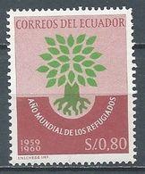 Equateur YT N°655 Année Mondiale Du Réfugié Neuf ** - Ecuador