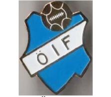 """Badge Pin: European Football Clubs Sweden -   """" Östers IF """" - Fussball"""