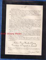 Document De 1900 - Château De La ROCHETIERE / Saint Etienne De Crossey ( Isère ) - Marie Marthe D' ORMOY Vicomtesse - Documenti Storici
