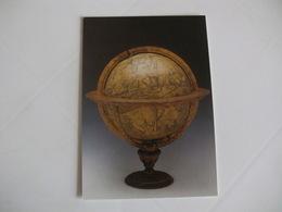 Postcard Postal United Kingdom London National Maritime Museum Celestial Globe By Gemma Frisius Of Louvain - Musées