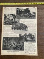 1910 JDV TROUPES AMERICAINES AUX MANOEUVRES - Alte Papiere