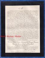 Document De 1895 - Château De LA SALLE De PITRON à RIGUEPEU ( Gers ) - Pauline Adelaïde LACAVE LA PLAGNE BARRIS - Documenti Storici
