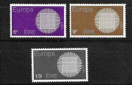 1970 EUROPA UNITA CEPT IRLANDA MNH ** - Nuovi