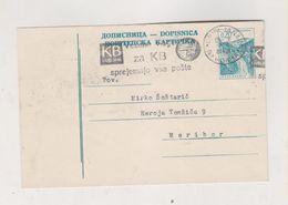 YUGOSLAVIA 1968 LJUBLJANA Postal Stationery - 1945-1992 Repubblica Socialista Federale Di Jugoslavia