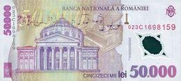 ROMANIA P. 113a 50000 L 2002 UNC - Roumanie